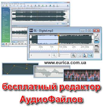 Бесплатный Аудио Редактор - программа обработки звуков и музыки