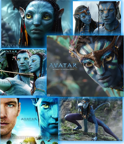 Обои фильма Аватар (Avatar), подборка различного разрешения, 72 изображения