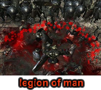 имя им легион, legion of man, боевик, экшн, вид сверху
