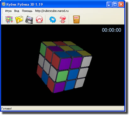 кубик Рубика 3D-игрушка головоломка